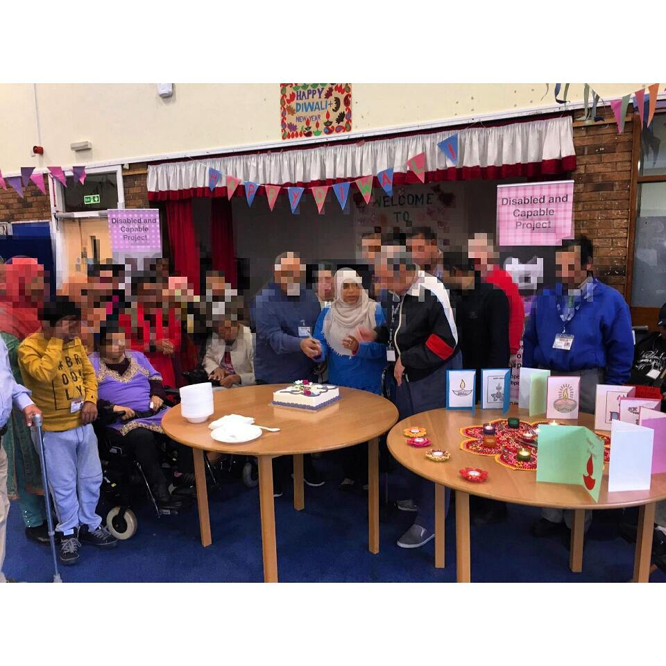 Here's another amazing picture from BPCA Newham ? celebrating Diwali! Yaaay! #diwali2017